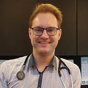 Dr Patrick Baker, GP at Doctors on Nicholson